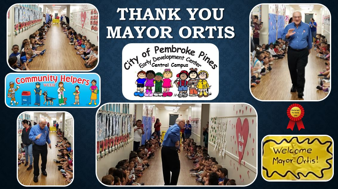 Thank you Mayor
