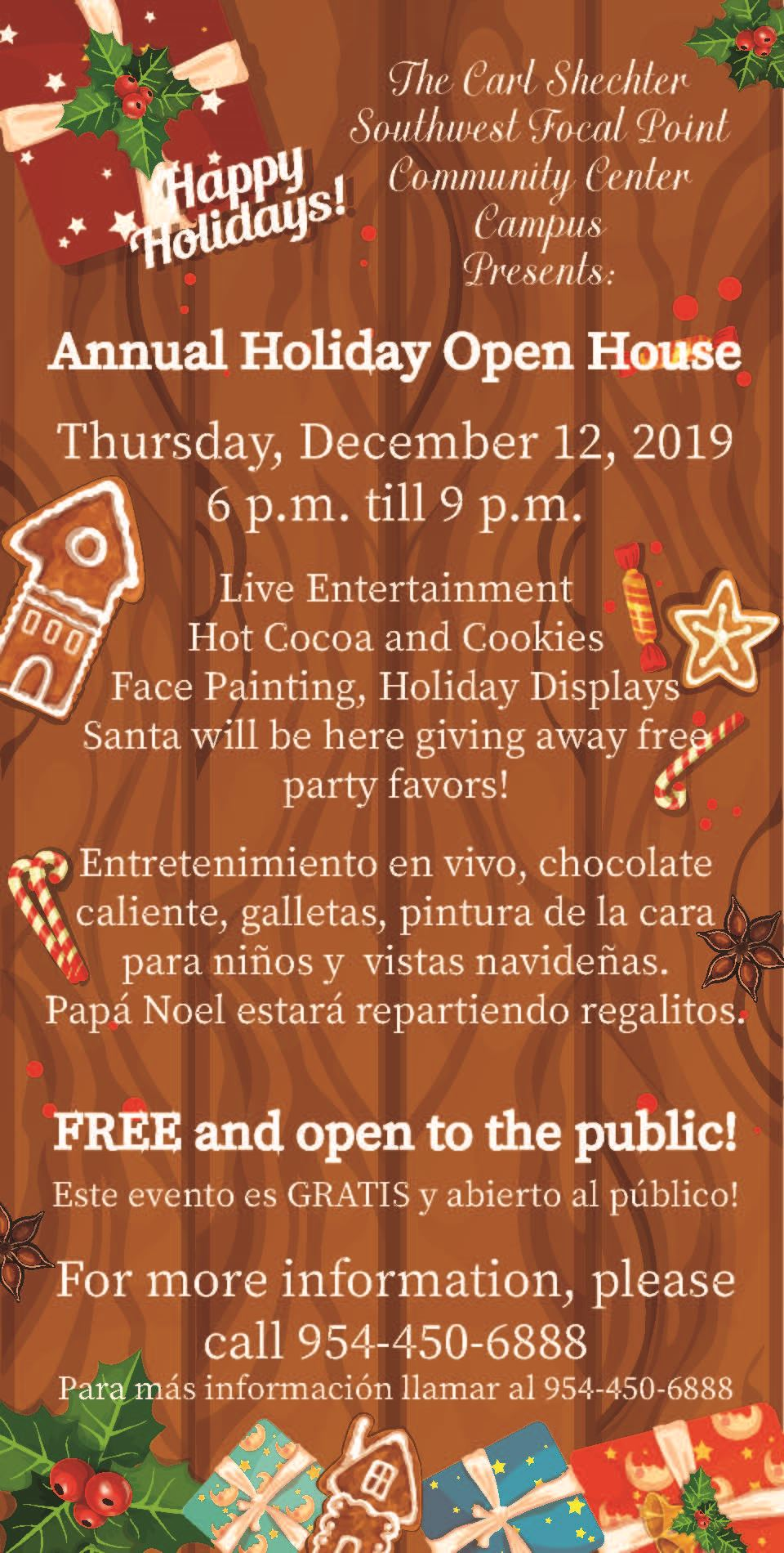 SWFP Holiday Open House 2019